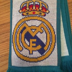 Real Madrid Teal Scarf